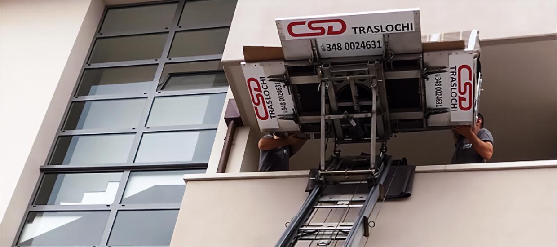 Traslochi Padova CSD